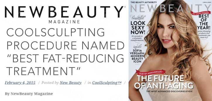 Article in New Beauty magazine